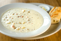 Bacon and Potato Chowder (Illustration)