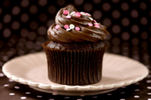 Triple Chocolate Cupcakes (Illustration)